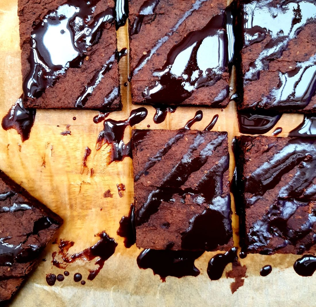 chocolate black bean brownies
